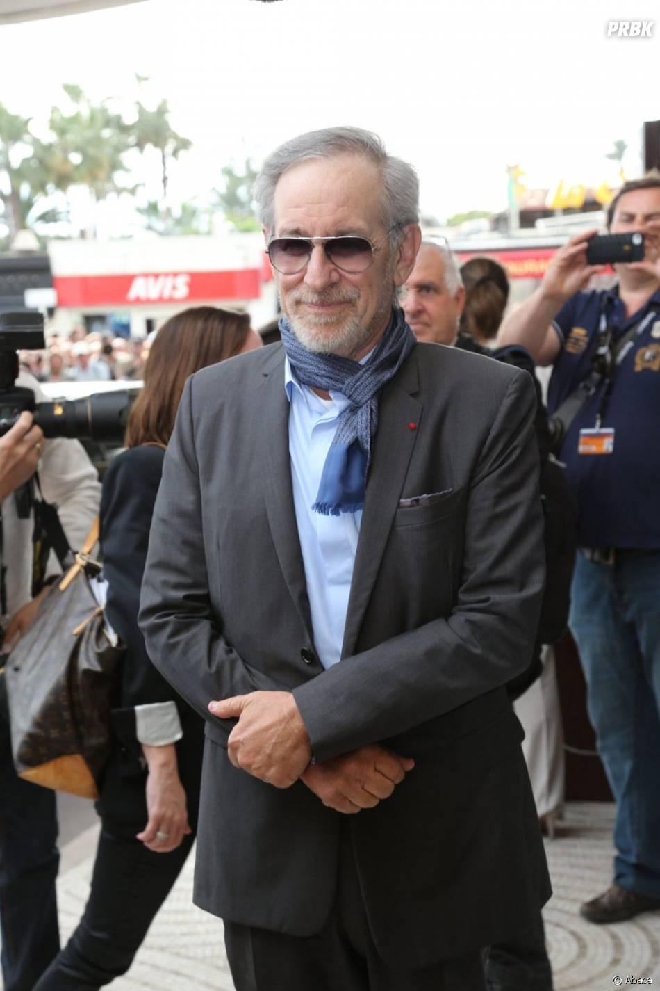Steven Spielberg pendant le festival de Cannes 2013