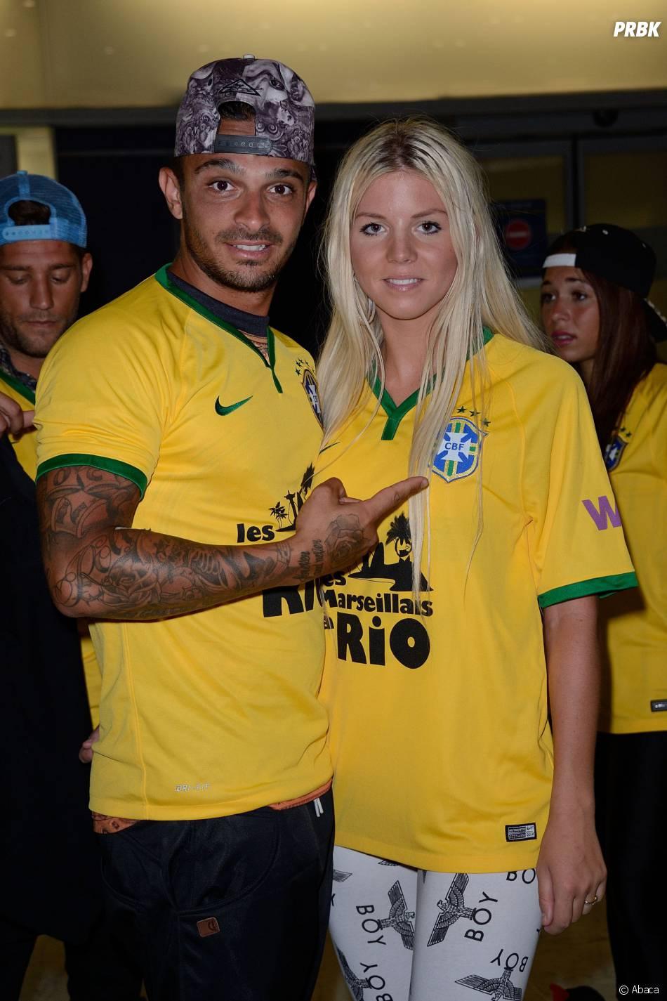 Les Marseillais à Rio : Julien et Jessica amoureux