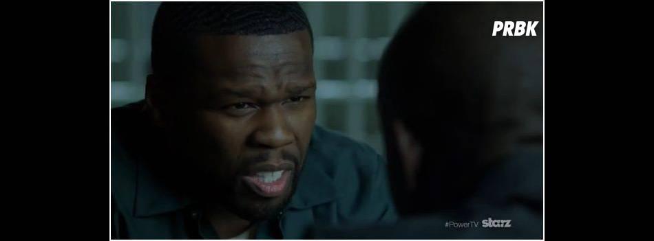 50 Cent dans Power, sa série diffusée sur Starz