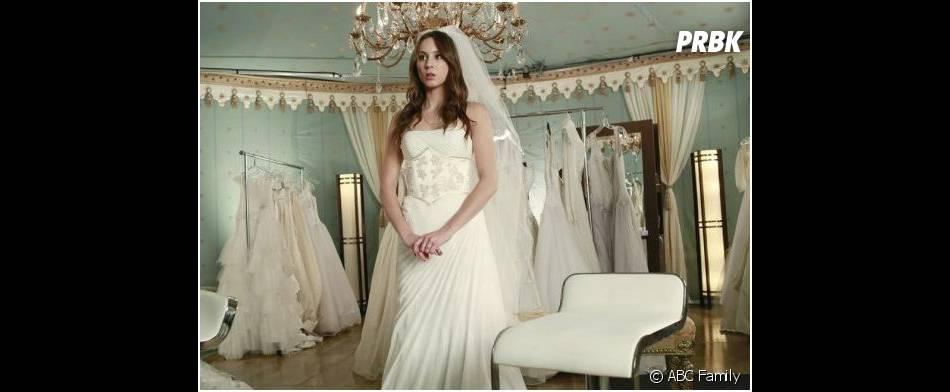 Pretty Little Liars saison 4, épisode 23 : Spencer en robe de mariée