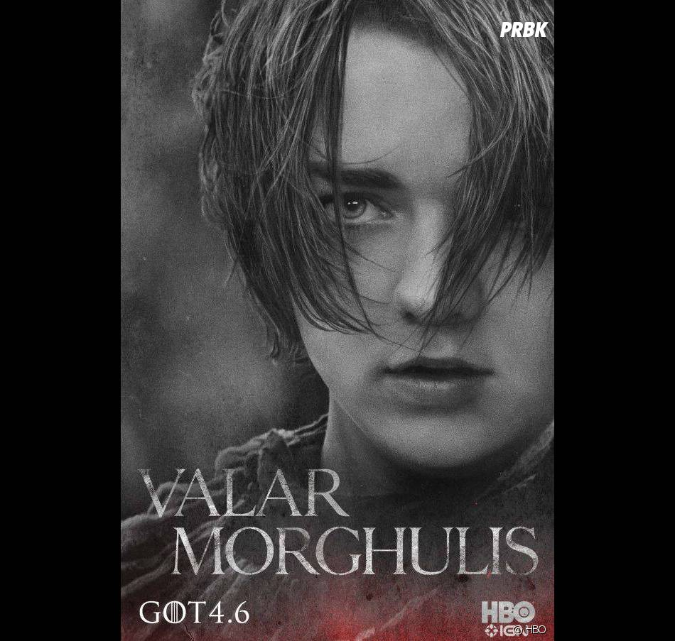 Game of Thrones saison 4 : Arya s'affiche