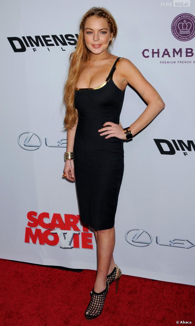 Lindsay Lohan a conclu avec beaucoup de people