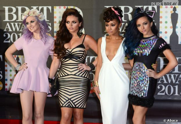 Little Mix : Perrie Edwards, Jesy Nelson... le girls band aux Brit Awards 2013