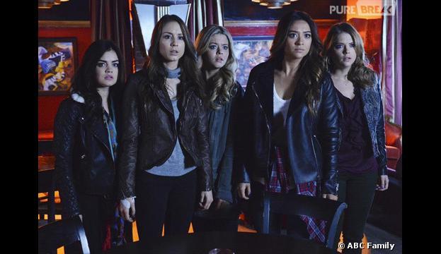 Pretty Little Liars saison 4, épisode 24 : Aria, Spencer, Alison, Emily et Hanna dans le final