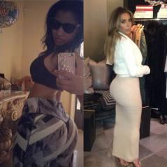 Nicki Minaj VS Kim Kardashian : qui a les plus belles fesses ?