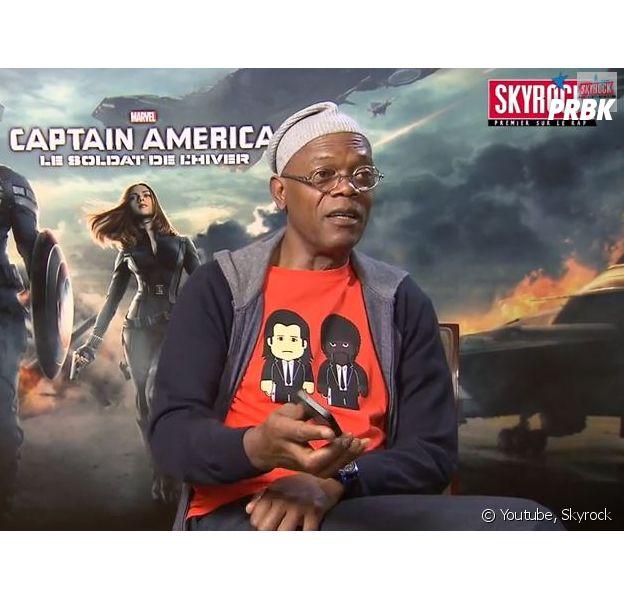 Stromae : en promotion pour Captain America, Samuel L. Jackson découvre Papaoutai