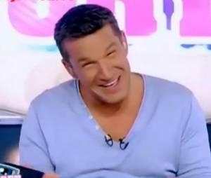 Benjamin Castaldi et ses fous rires sur TF1