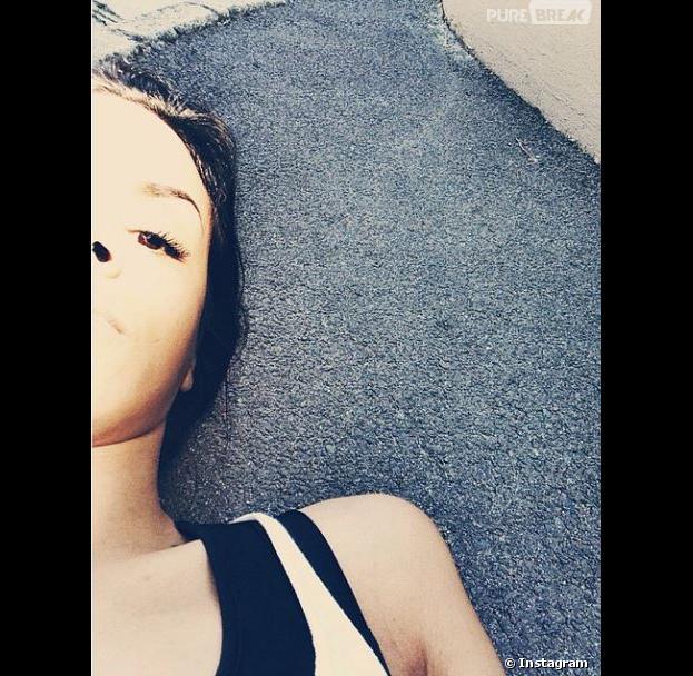 Shy'm : un poisson d'avril flippant pour ses fans sur Instagram