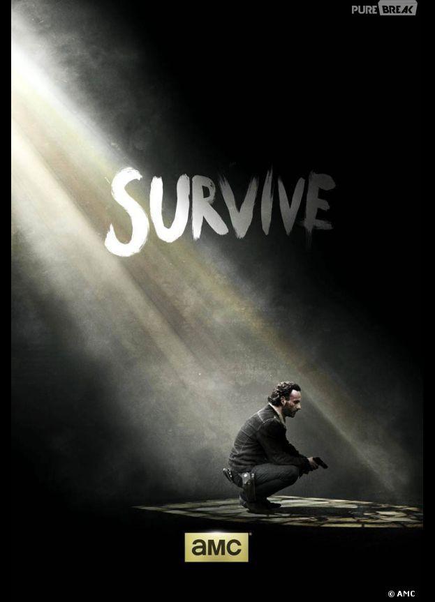 Walking Dead saison 5 : premier poster avec Andrew Lincoln