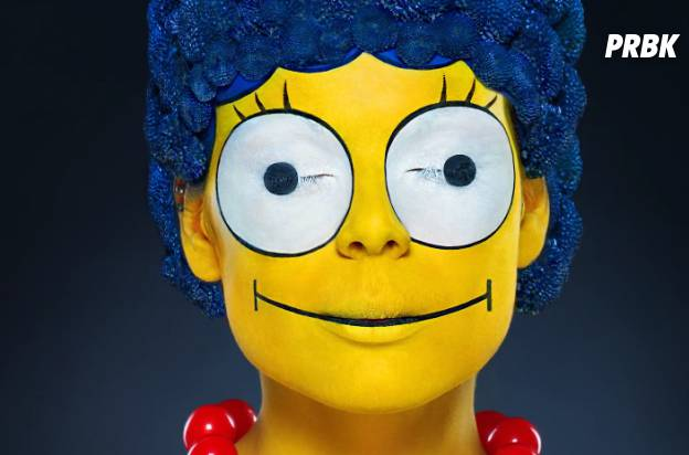 Marge Simpson maquillage