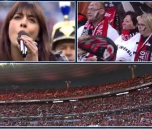 Nolwenn Leroy a chanté en Breton pour la Coupe de France