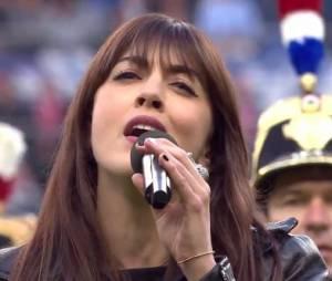 Nolwenn Leroy a chanté au Stade de France