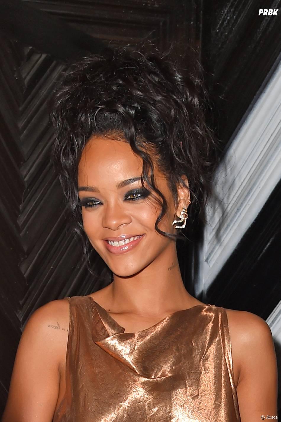 Rihanna fait monter la température à l'after party du Met Gala 2014, le 5 mai 2014