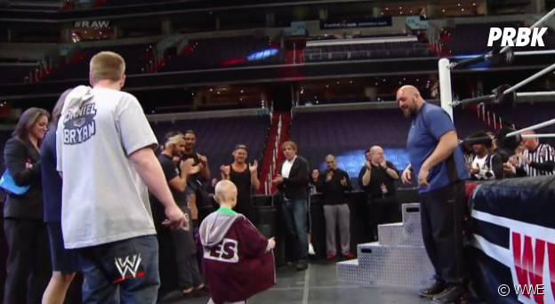 entrée de Connor sur le ring