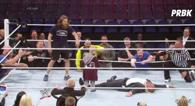 Connor sur le ring
