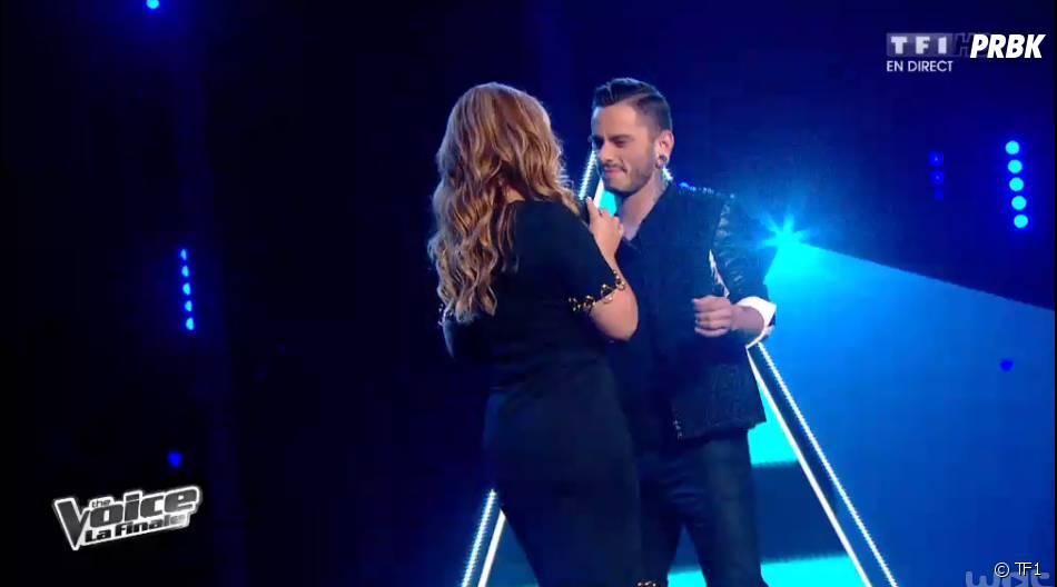 The Voice 2014 : Maximilien et Anastacia en duo pendant la finale, le samedi 10 mai 2014 sur TF1