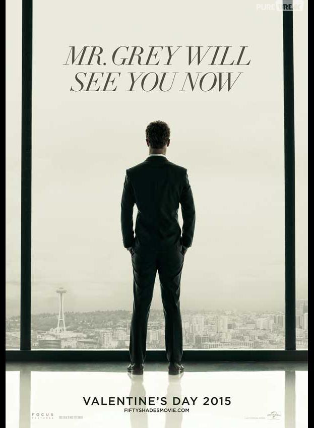 Fifty Shades of Grey : poster mystérieux avec Jamie Dornan