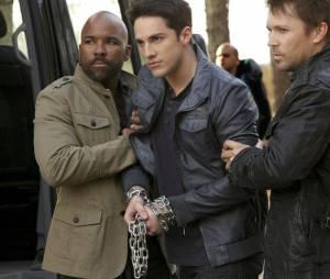 Vampire Diaries saison 5, épisode 22 : Michael Trevino sur une photo du final