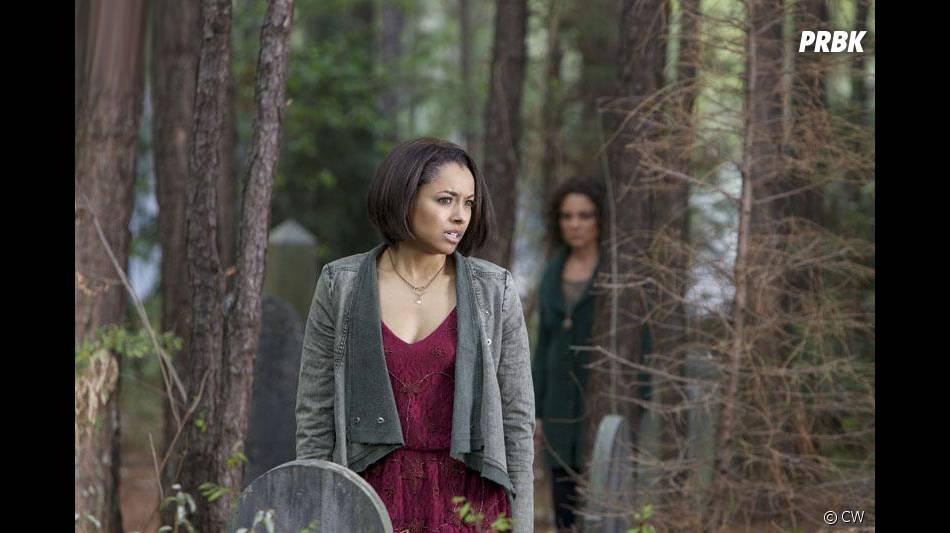Vampire Diaries saison 5, épisode 22 : Kat Graham sur une photo du final