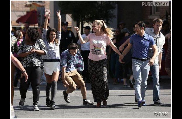 Glee saison 5, épisode 20 : Rachel et les autres dans le final
