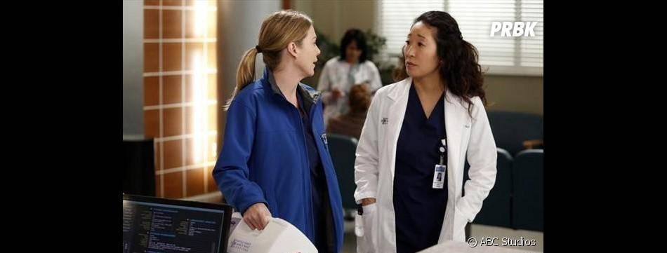 Grey's Anatomy saison 9 : Meredith et Cristina sur une photo