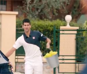 Novak Djokovic, star de la pub pour la Peugeot 208