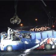 Equipe de France : le bus des Bleus à Knysna détruit symboliquement par Adidas