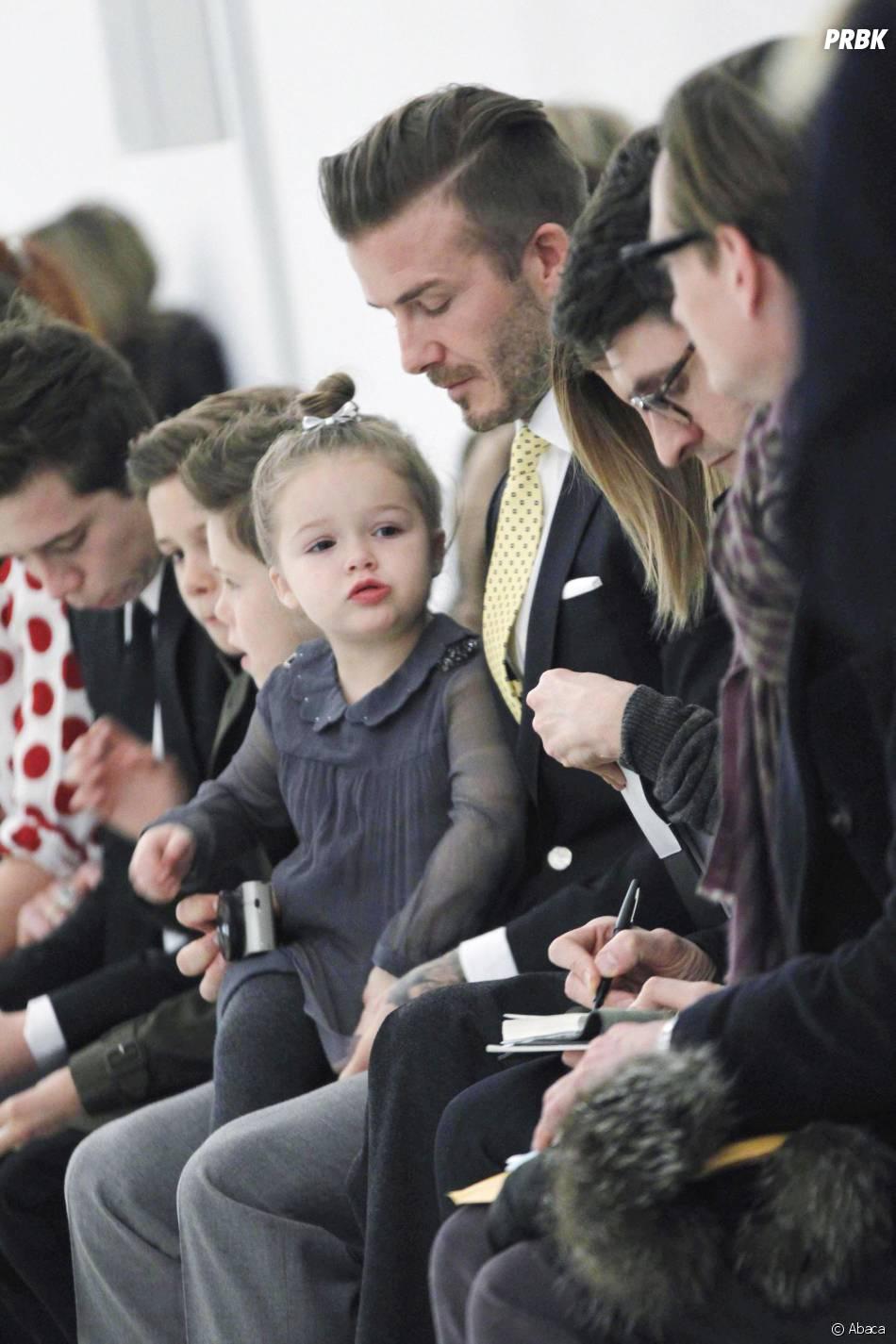 Harper Seven Beckham, la fille de David et Victoria Beckham, 5e bébé le plus stylé en 2014 selon My1stYears.com