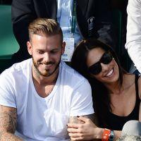 M. Pokora : jolie complicité avec une belle brune à Roland Garros