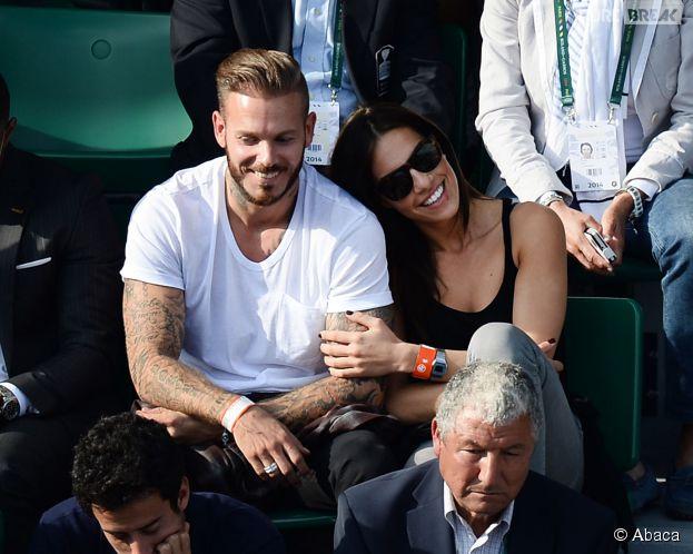 M. Pokora bien accompagné à Roland Garros le lundi 2 juin 2014