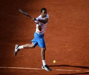 Gaël Monfils s'est incliné face à Andy Murray à Roland Garros, le 4 mai 2014