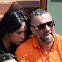 Amel Bent : belle complicité dans les tribunes de Roland Garros