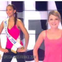 Flora Coquerel (Miss France 2014) sexy pour une séance de sport sur D8