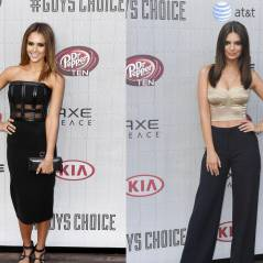 Jessica Alba VS Emily Ratajkowski : battle de bombes aux Guys Choice Awards