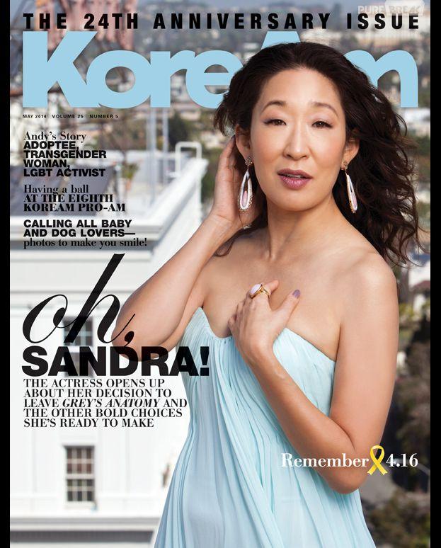 Sandra Oh se confie au magazine IamKorean
