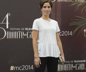 Devious Maids : Ana Ortiz pose lors du 54ème Festival de Monte Carlo