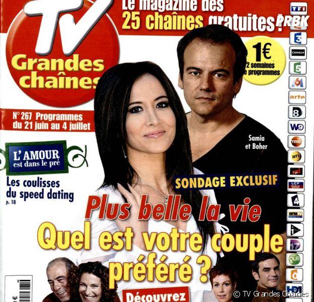 Plus Belle La Vie : Samia et Boher couple préféré des téléspectateurs