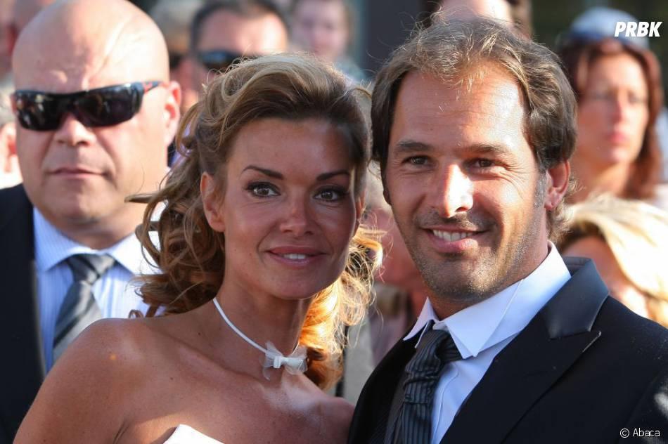 Ingrid Chauvin et Thierry Peythieu : photo de leur mariage le 27 août 2011