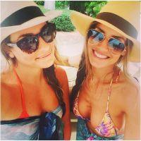 Lea Michele : bikini sexy et surf pendant ses vacances au Mexique