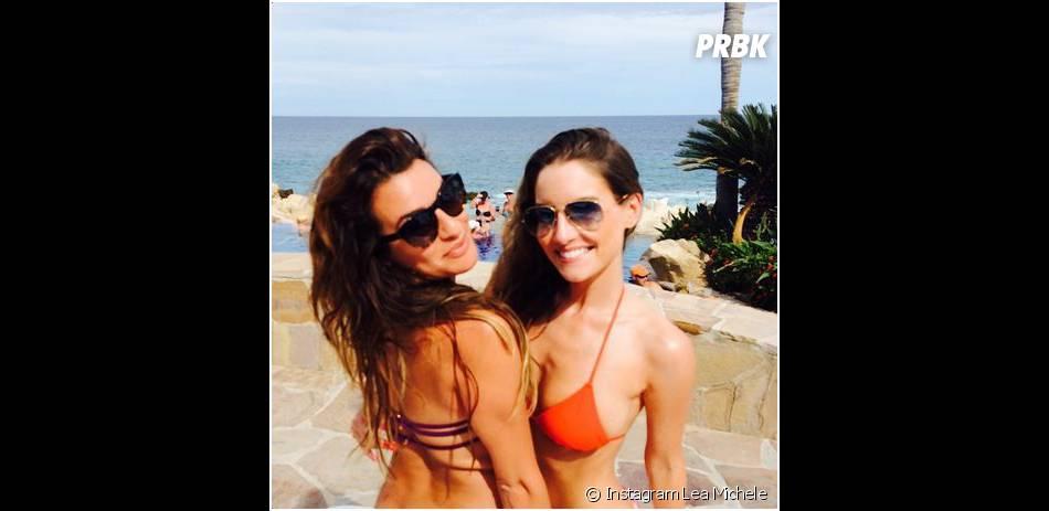 Lea Michele en bikini sur Instagram, le 24 juin 2014