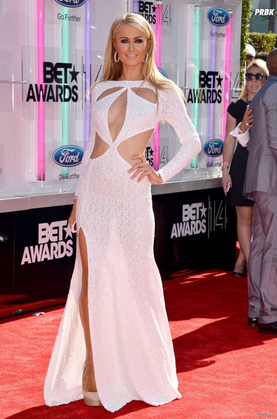 Paris Hilton à la cérémonie des BET Awards 2014 à Los Angeles, le 29 juin 2014