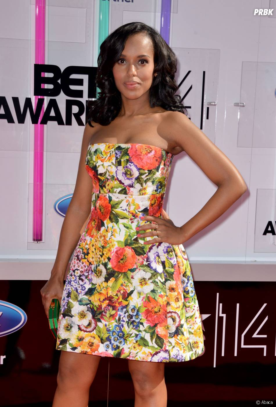 Kerry Washington à la cérémonie des BET Awards 2014 à Los Angeles, le 29 juin 2014