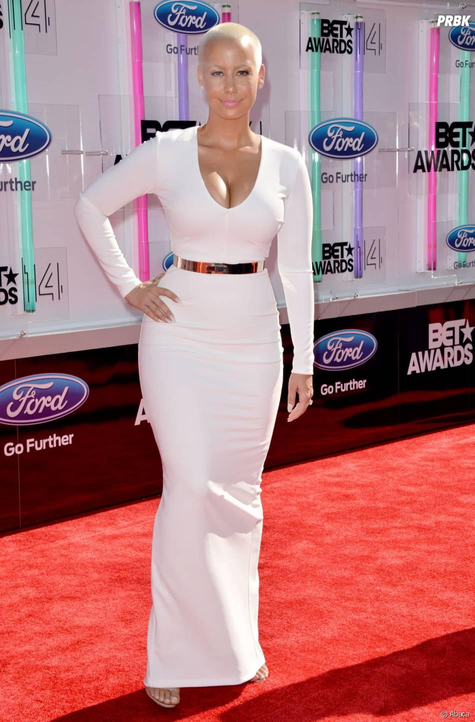 Amber Rose à la cérémonie des BET Awards 2014 à Los Angeles, le 29 juin 2014