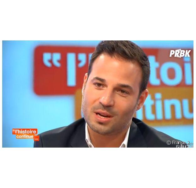Mario Barravecchia : l'ancien candidat de la Star Academy donne de ses nouvelles dans Toute une histoire, sur France 2, le 1er juillet 2014