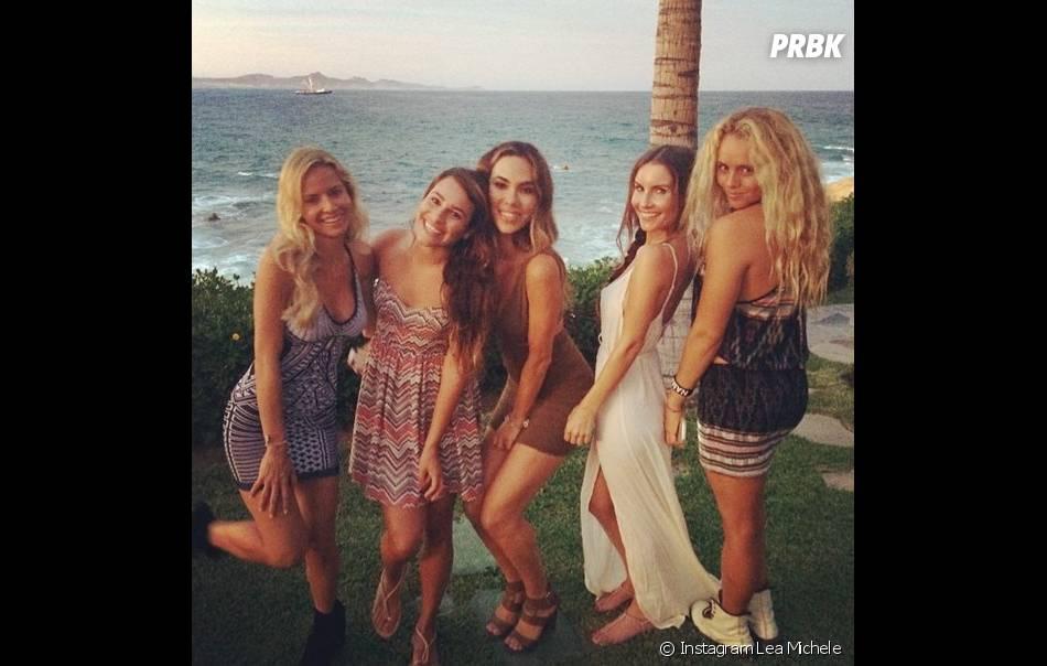 Lea Michele et ses amies au Mexique