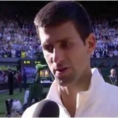 Novak Djokovic roi de Wimbledon 2014 : dédicace touchante à sa fiancée enceinte