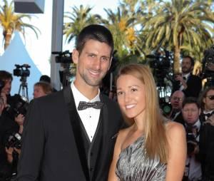 Novak Djokovic et sa fiancée Jelena Ristic au festival de Cannes 2012