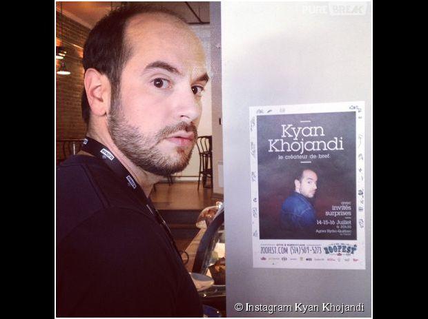 Kyan Khojandi présente son spectacle de stand-up à Montréal