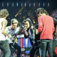 Les One Direction en concert au Stade de France avec le Where We Are Tour, le 20 juin 2014