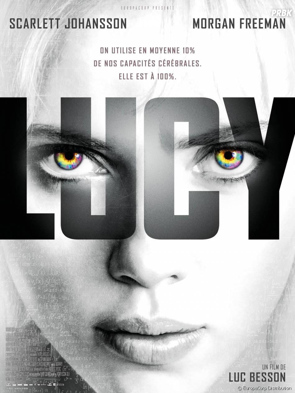 Lucy : affiche du film avec Scarlett Johansson